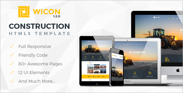 Construction & Building Joomla Template