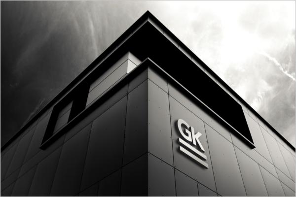Corporate 3D Wall Logo