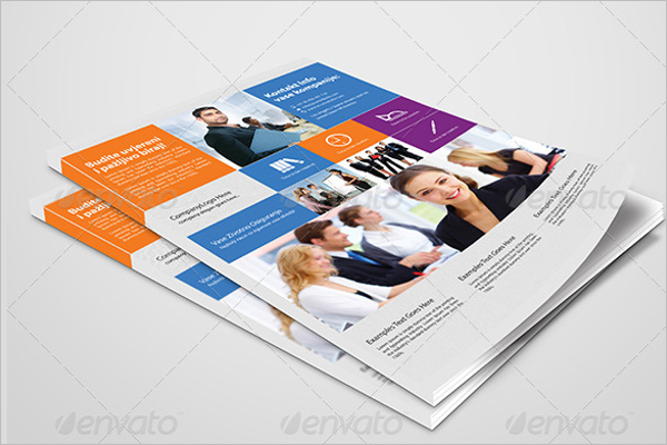 Corporate Advertising Flyer Template