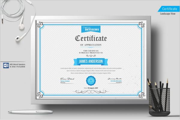 Corporate Certificate Templates