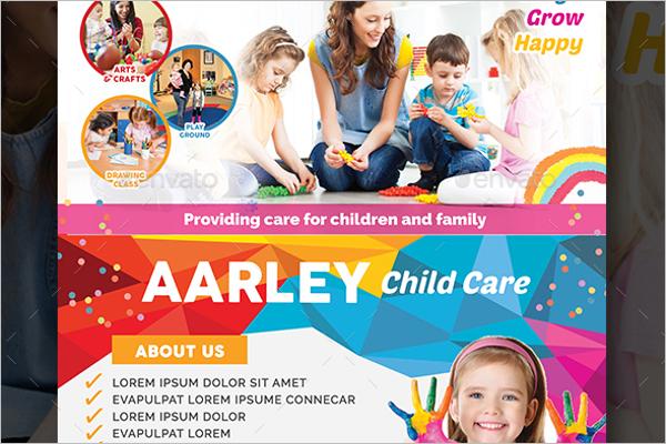 Corporate Child Care Flyer