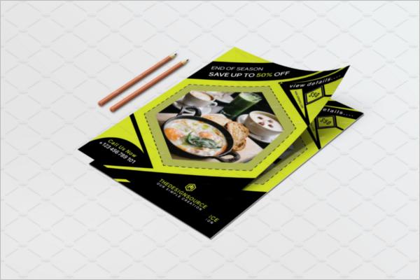 Corporate Food Flyer Design