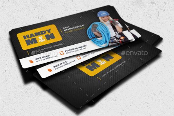 Handyman Business Cards Templates Free Premium Ideas Creative