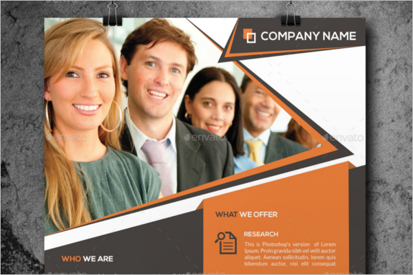 Corporate Product Flyer Template