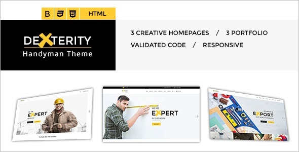 Corporate Speciality Pages HTML Template