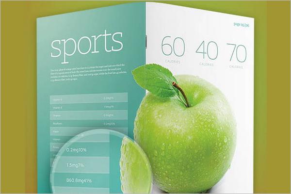 Corporative Brochure Template PSD