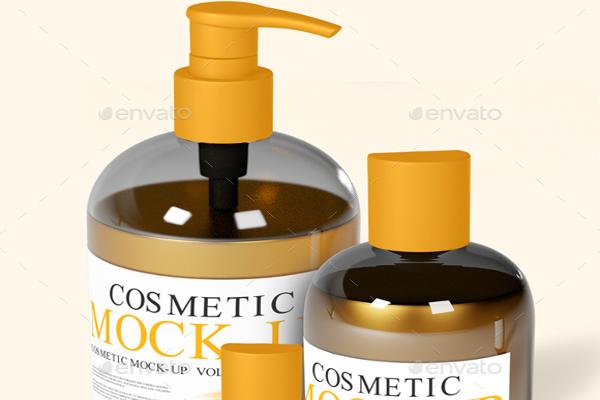 Cosmetic Mock-Up Printable Design