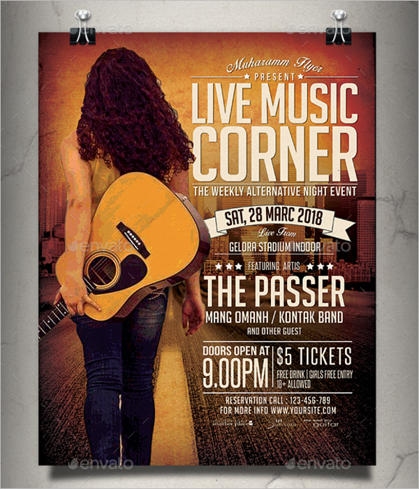 Country Music Poster Design