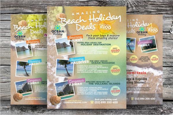 Creativa Traval Agency Flyer Designs