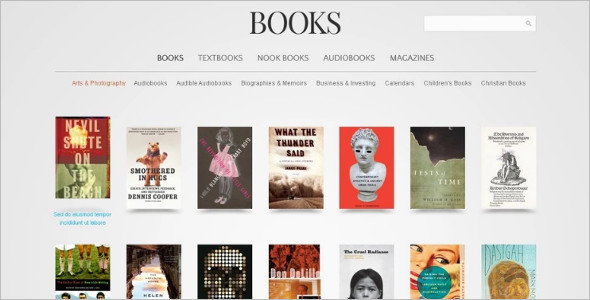 Creative Bookstore Magento Template