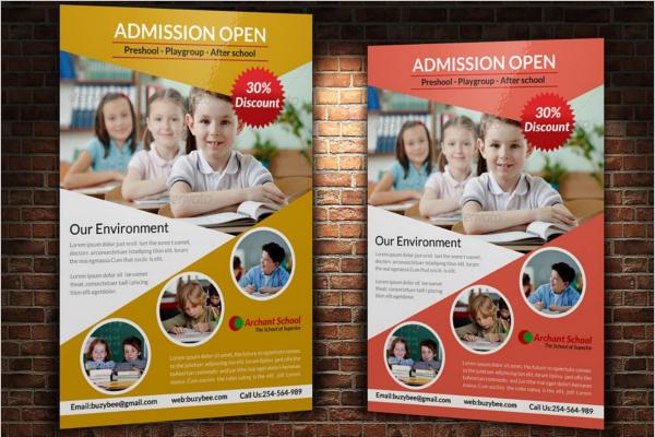 Creative Education Flyer Template