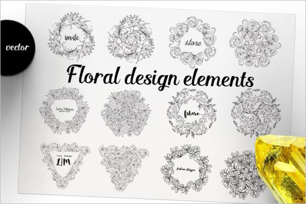 Creative Floral Element