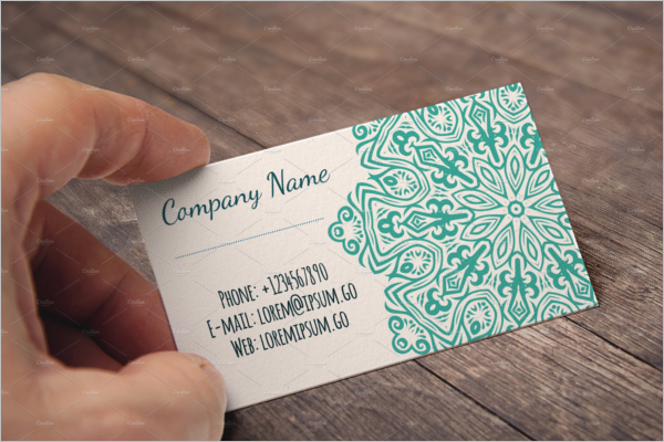 Creative Handyman Business Card