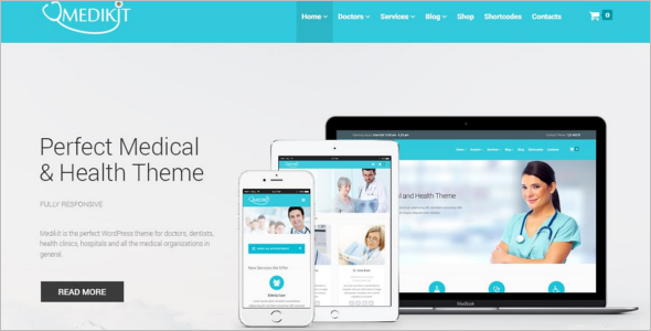 Creative Medical Woocommerce Theme