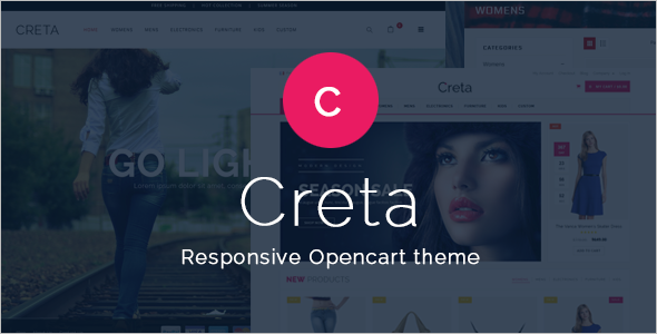 Creative Opencart Template