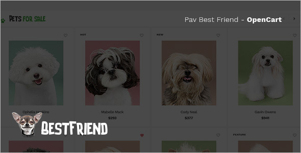 Creative Pet Store OpenCart Template