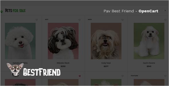 Creative Pet Store OpenCart Template