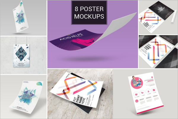 Creative Poster Bundle Design