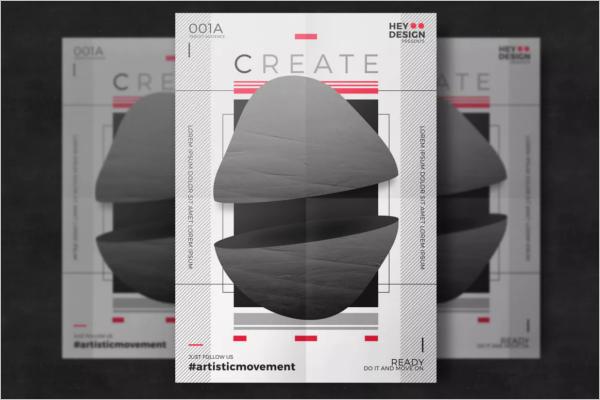 Creative Poster Modern Design