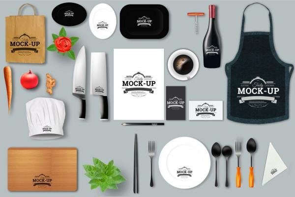 Creative Restaurant Mock-Up