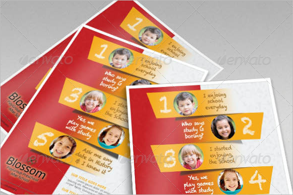 Customise Daycare Flyer Design