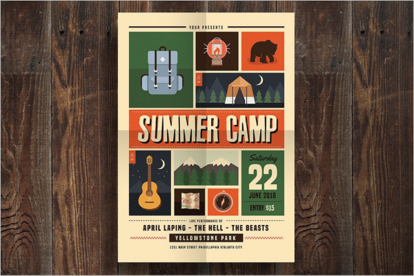 Customizable Summer Flyer Design