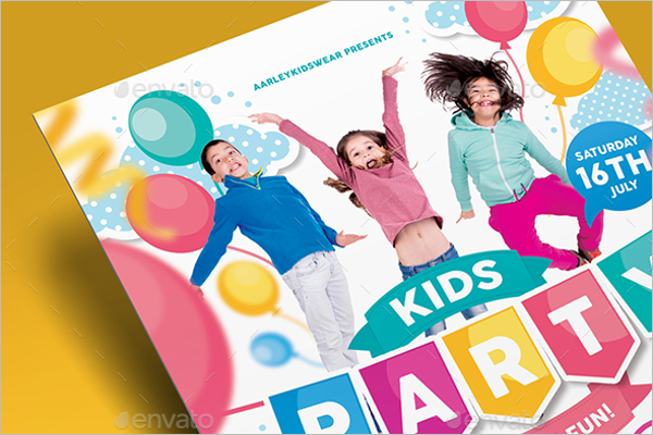 Daycare Event Flyer Template