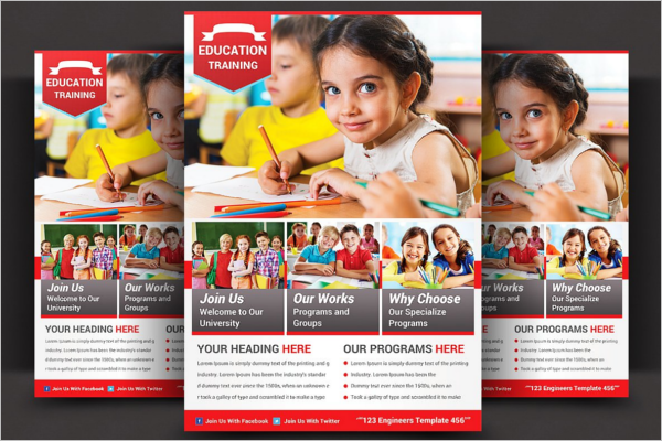 34  daycare flyer templates free example design ideas