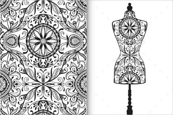 Decorative Geometric Pattern