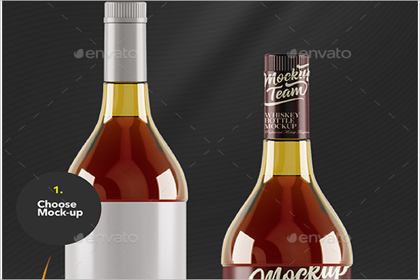 Delicious Drink Mock-Up Design