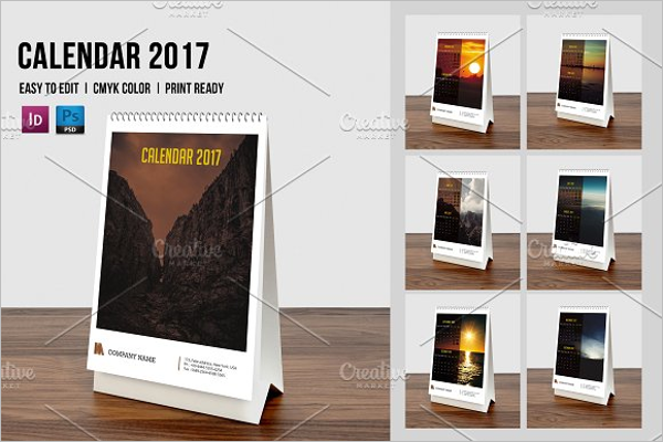 Design Calendar Corporate Site