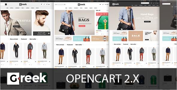 Digital Industrial OpenCart Template