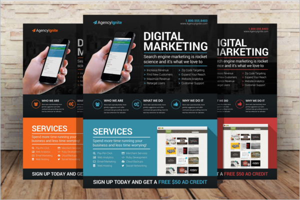 Digital Marketing Advertising Flyer