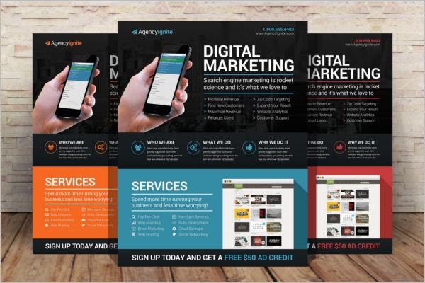 Digital Marketing Advertising Flyer