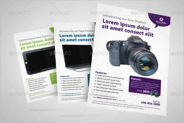 Digital Product Flyer Design