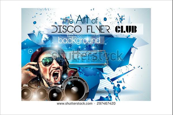 Disco Club Flyer Design