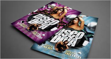 Disco Flyer Templates