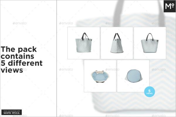 Dockside Bag Mockup PSD