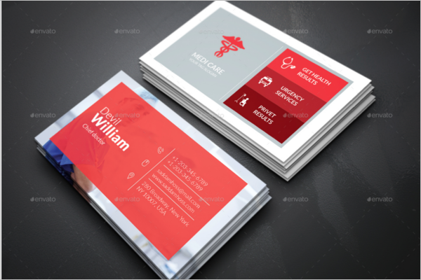 Doctor business card template doctor business card template colourmoves