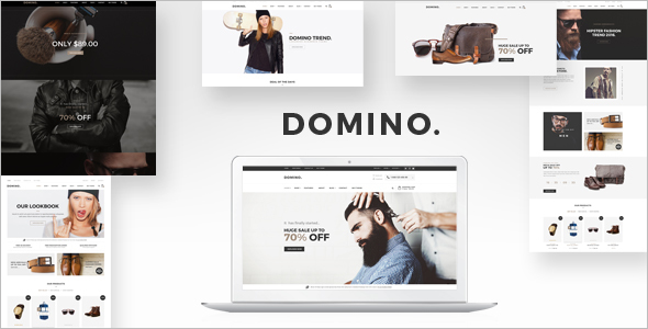 Domino Opencart theme