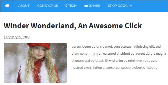 Download Blog Template