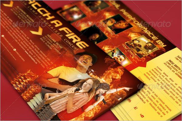 Download Church Marketing Flyer Vector