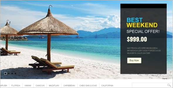 Dream Travel Magento Theme