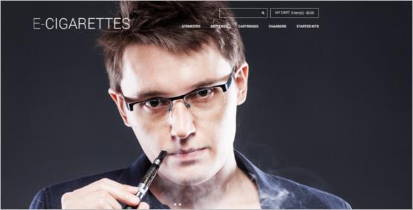E-Cigarettes Store Magento Theme