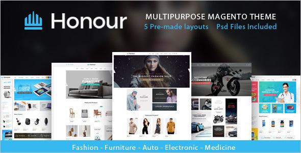 E-Commerce Store Magento Template