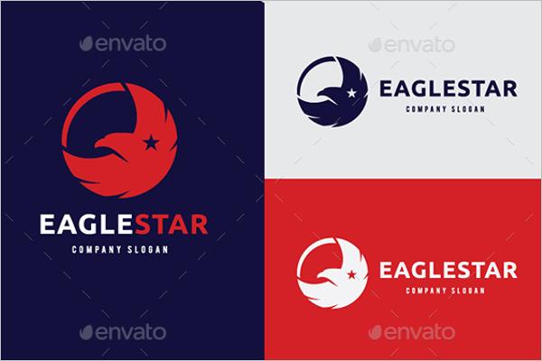 Eagle Star Photoshop Logo