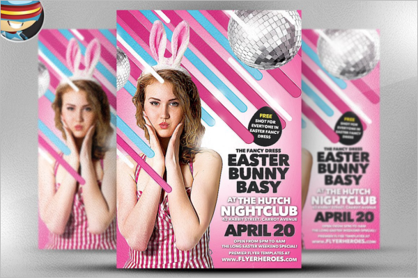 Easter Bunny Bash Template