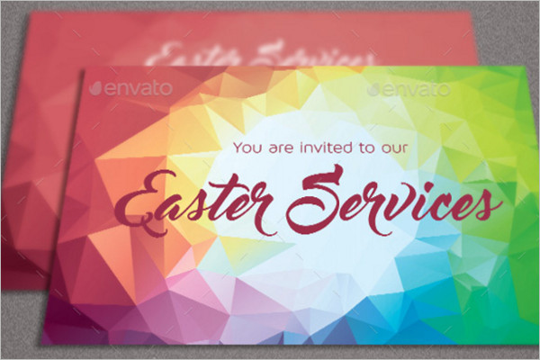 Easter Church Flyer Template
