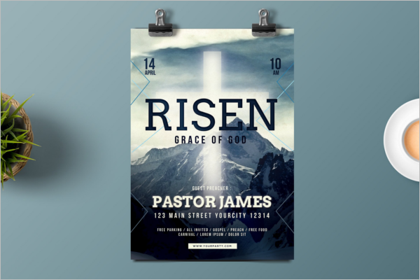 Easter Church Poster