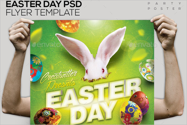 Easter Day PSD Template